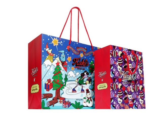 1kiehls 2016 Holiday Photography Shopping Bags