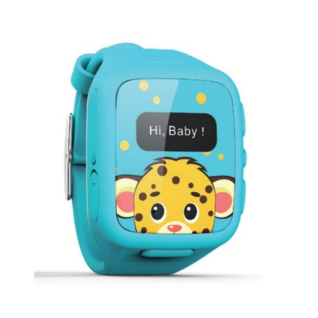 Ksix Kidsafe Watch Phone Watch Gps Infant Blue