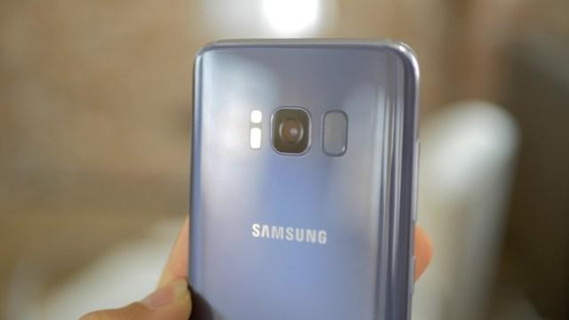 Galaxy S8 Sensor Huella