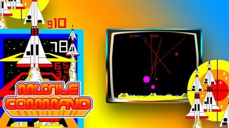 Missile Command Atari Plex