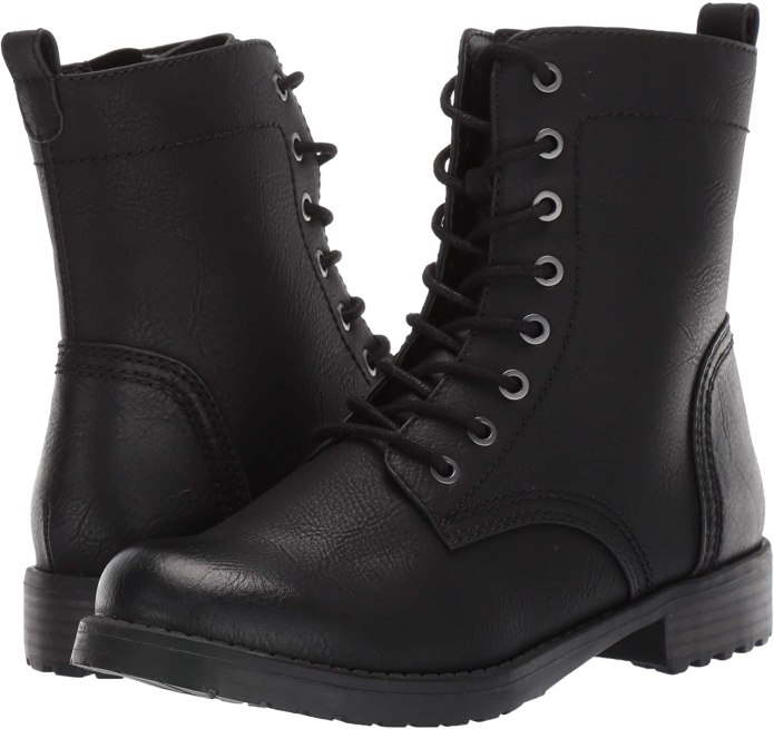 Amazon Essentials Women's Lace-Up Combat Boots