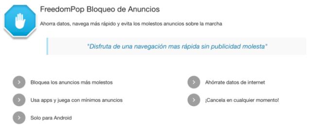 FreedomPop posee una renovada vía de negocio: bloquear avisos a cambio de 1,99 euros al mes