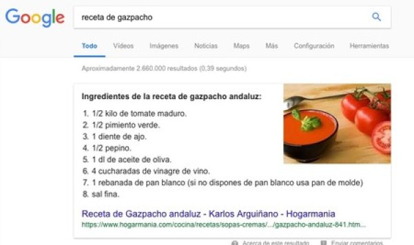 Receta De Gazpacho Buscar Con Google