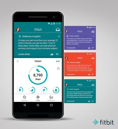 Fitbit Premium Android Insights