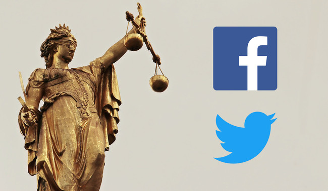 Reino Unido Juicio Facebook Twitter