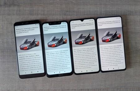 Comparativa Pantalla Xiaomi