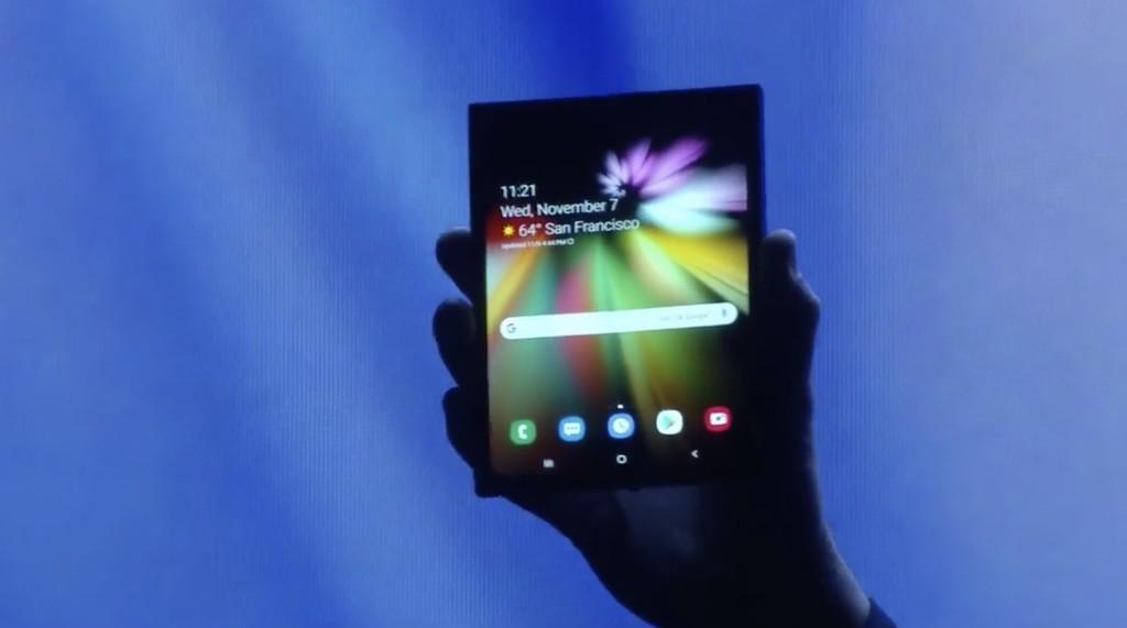 'Infinity Flex Display': esta es la pantalla que dará vida al 1° equipo plegable de Samsung