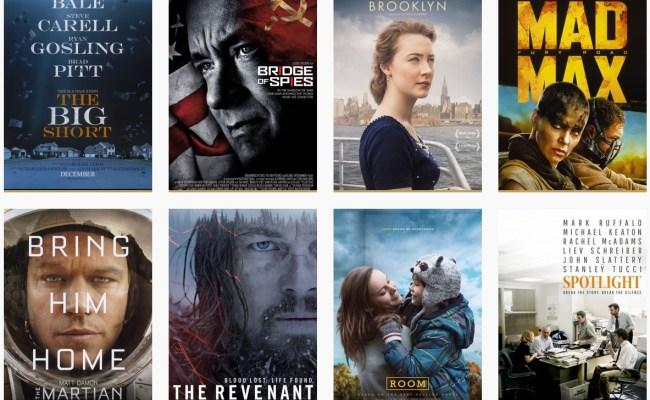 Camino Al Oscar 2016 Mejor Película