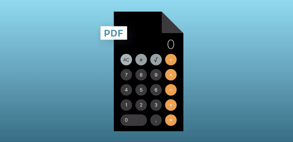 Como el iPad sigue sin traer calculadora, han desarrollado una en PDF