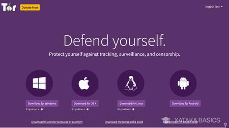 Laden Sie den Tor Browser herunter