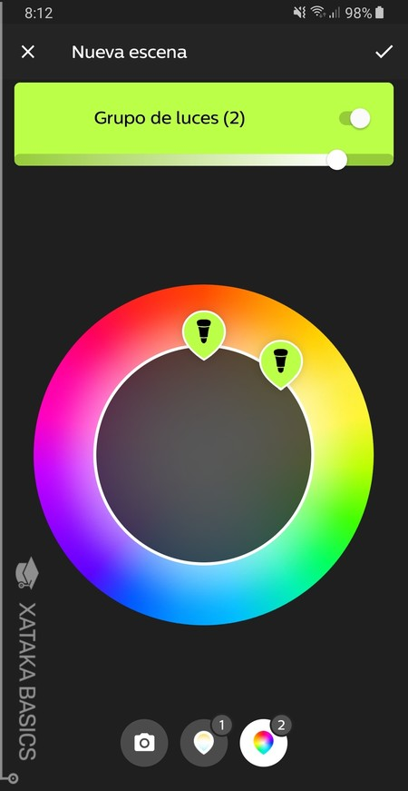 create your own color combinations on your own or using photos