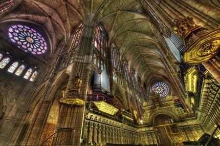 Interior Catedral León