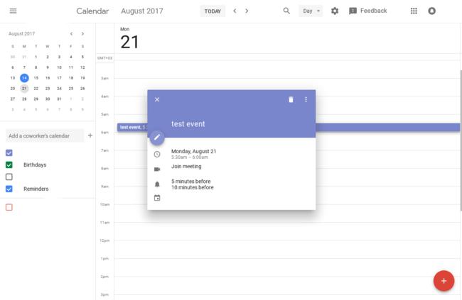 Permalink to Google Calendar para el escritorio finalmente tendrá un diseño más bonito y acorde a Material Design