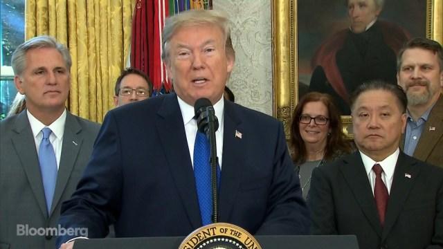 Trump revela la vuelta de Broadcom a Estados Unidos. Imagen de Bloomberg.