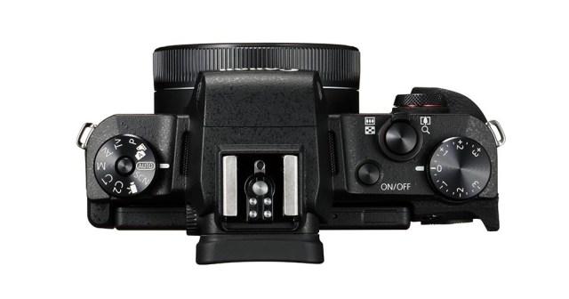Powershot G1 X Mark Iii Top Lens Folded