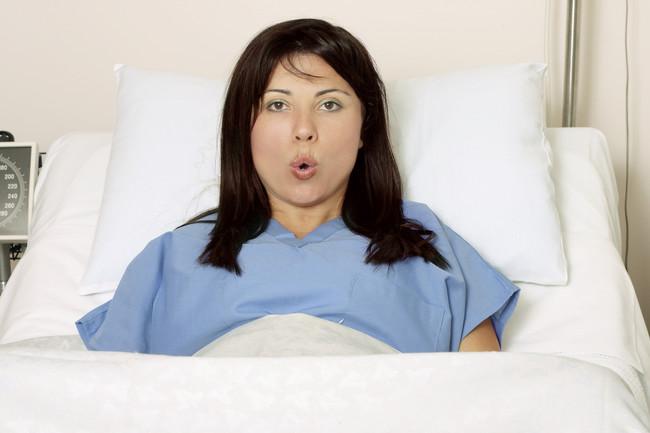 Respiración en el parto
