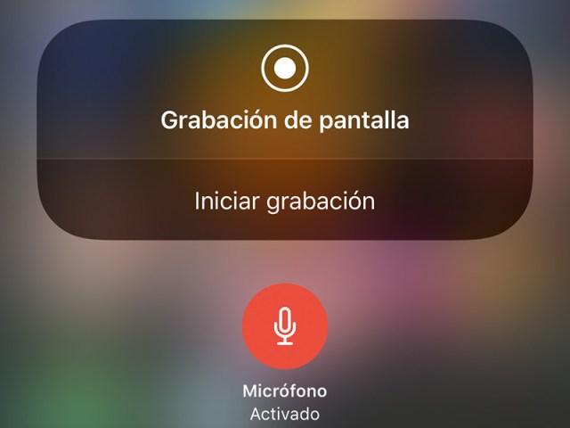 Cómo grabar la pantalla del terminal en iOS℗ y Android