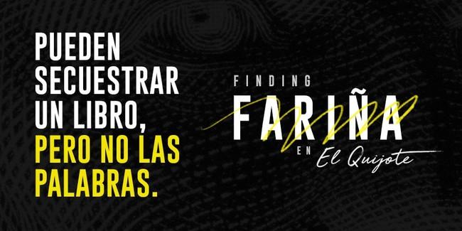 Finding Farina Libro Prohibido El Quijote