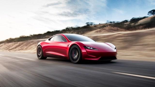 Tesla Roadster 0 a 100
