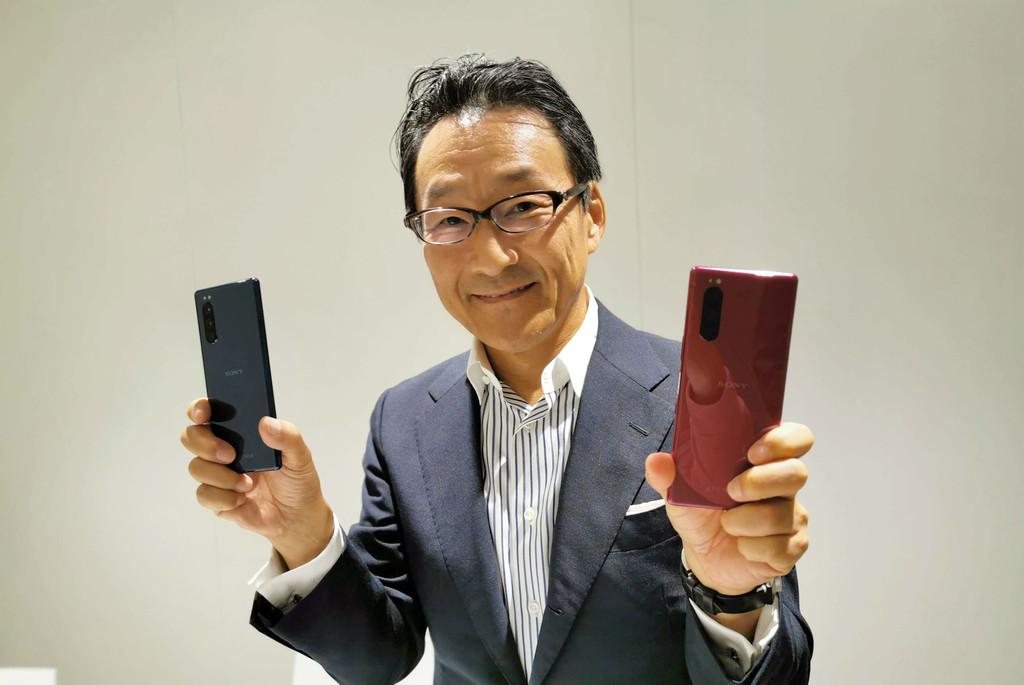 «No estamos intentando simplemente imitar lo que hacen las grandes compañías» Entrevista con Kishida, presidente de Sony Mobile