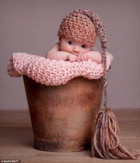 Resultat d'imatges de bebé feliz foto artística