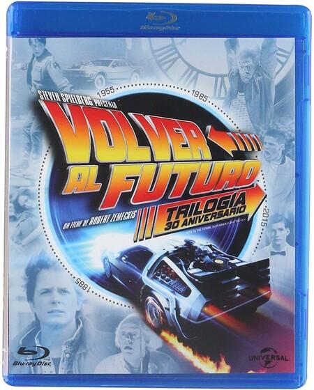 Paquete Blu-ray de Volver al Futuro con descuento en México