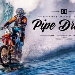 Robbie Maddison Surfeando Con Su Moto De Motocross