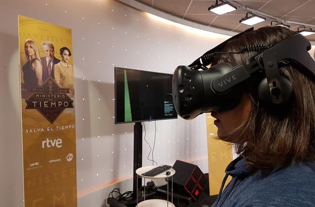Permalink to Ahora 'El Ministerio del Tiempo' también se puede tocar en su nueva experiencia VR