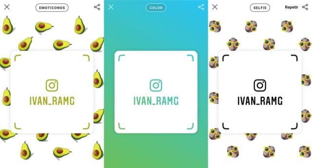 Instagram añade tarjetas de identificación para continuar cuentas más fácilmente