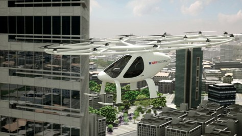 Volocopter Pruebas Dubai