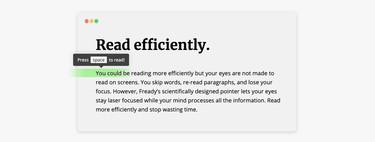Esta extensión gratuita te ayudará a leer más rápido y más concentrado