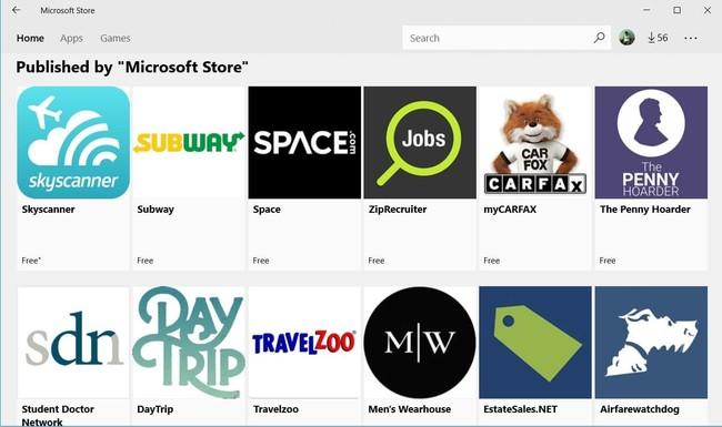 New Pwas In Windows Store