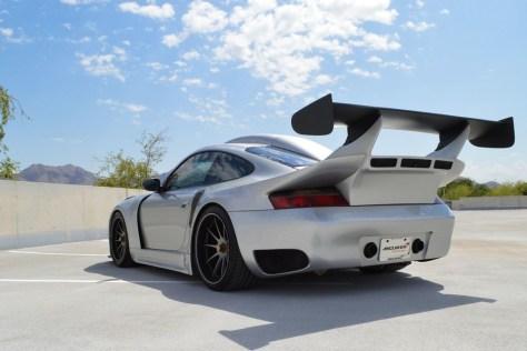 Este Porsche 911 GT2 de más de 1.000 CV es lo más bestia que vas a ver hoy