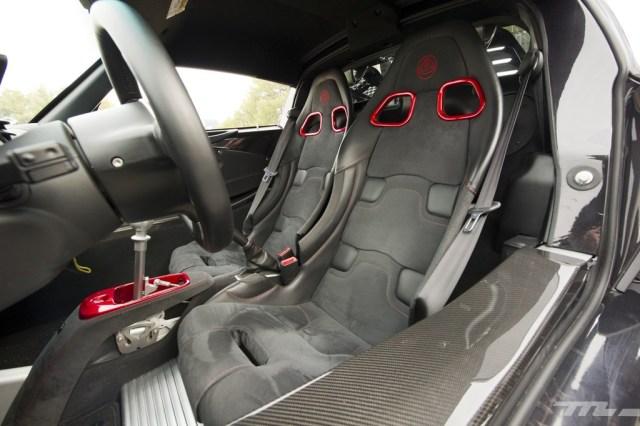 Lotus Exige 380 Sport asientos