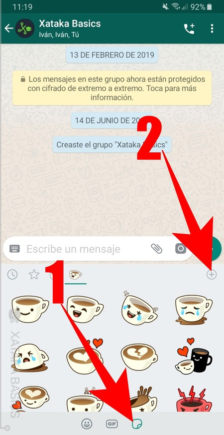 How to download the stickers you like the most in WhatsApp without having to download the complete package