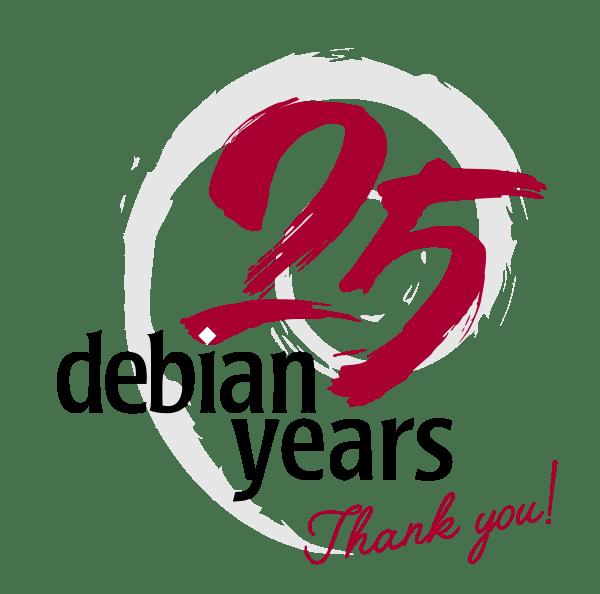 Debian25years