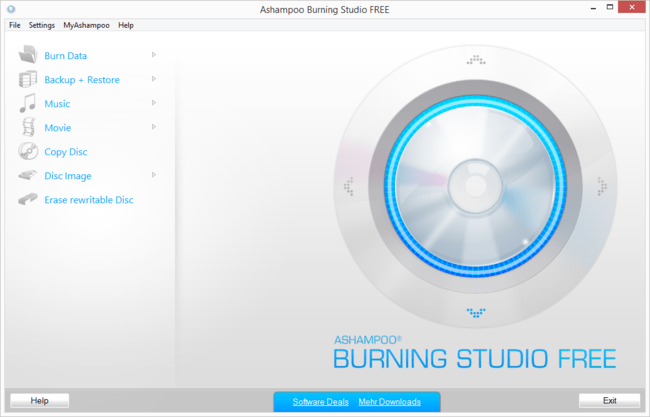 Ashampoo Burning Studio Free En Main