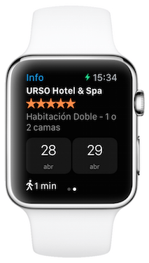 Booking Apple Watch 3