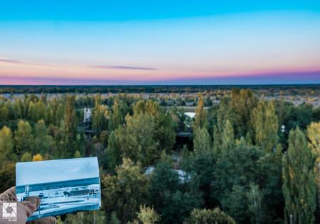 Chernobyl Before After Cafe Pripyat 04
