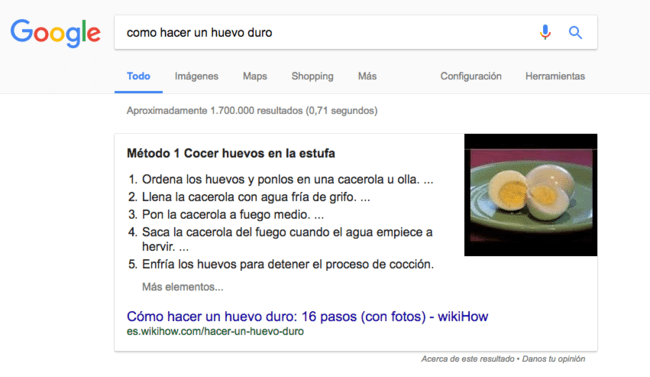 Featured Snippet Huevo Duro 1