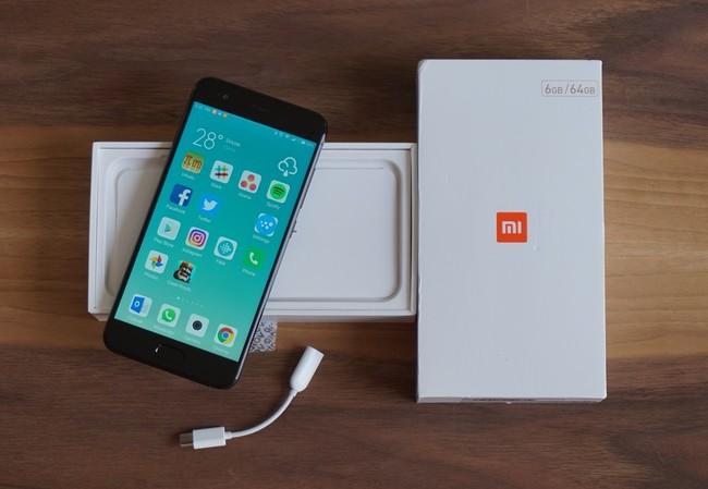 Adaptador de audifonos del Xiaomi Mi6