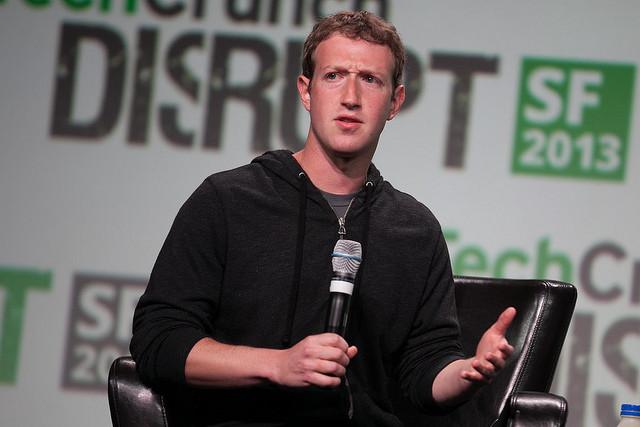 Mark Zuckerberg Facebook Conferencia