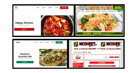 A food delivery company created thousands of fake real restaurant websites to sell more (and it's legal)