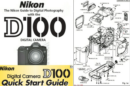 Nikon D100 Manual Despiece