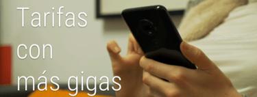 Las tarifas con más datos(info) para navegar desde el móvil: los 50 GB comienzan a proliferar