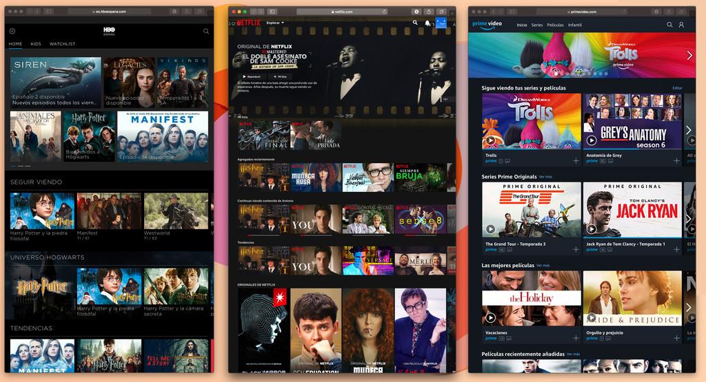 Cómo saber qué servicio online (Netflix, HBO, Amazon Prime Video...) tiene una serie o película