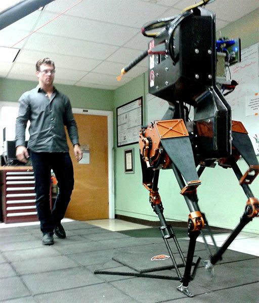 OSU ATRIAS robot