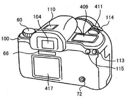 Canon patenta una réflex con pantalla táctil