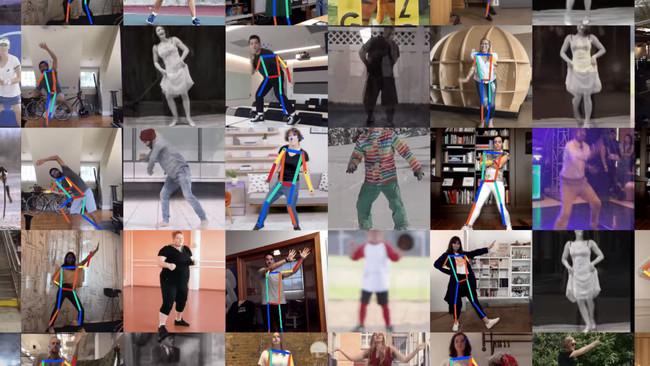 Permalink to Move Mirror, el nuevo experimento de Google que compara tus movimientos con miles de imágenes en tiempo real
