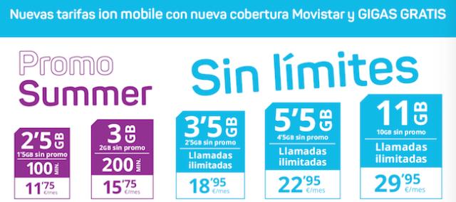ION Mobile empieza el quince de junio su migración a Movistar, con nuevas tarifas y servicios